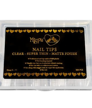 Magpie Magpie Clear Nail Tips 360ct