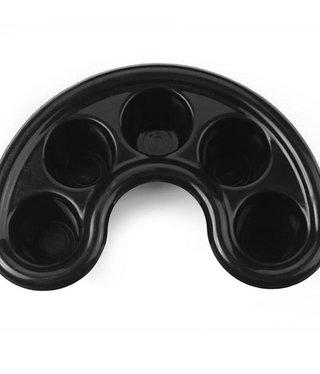 Soak Off Trays Black  x2pk