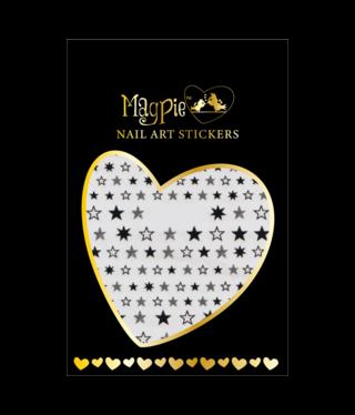Magpie 019 Black stickers