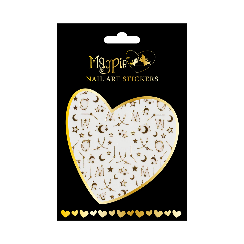 Magpie 013 Gold stickers