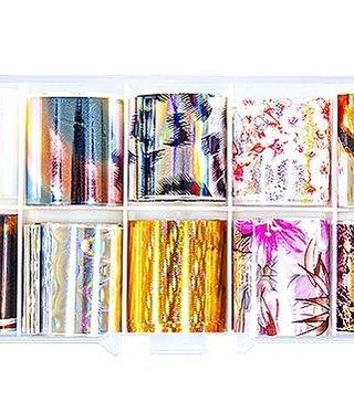 Nail Foil Box 18 10pk