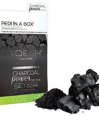 Voesh Voesh Pedi in a box Charcoal