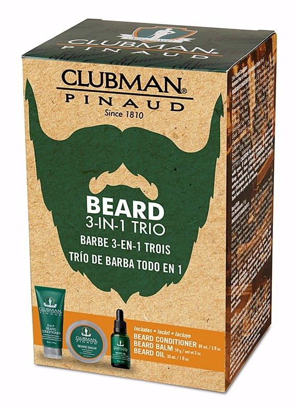 Clubman Clubman 3pc Beard Pack