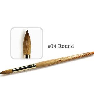 Medicool Round Kolinsky14 Acrylic brush