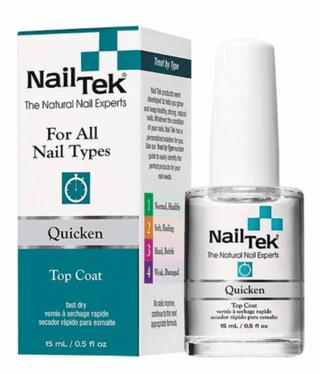 Nail Tek Quicken 15ml Fast Dry Top Coat