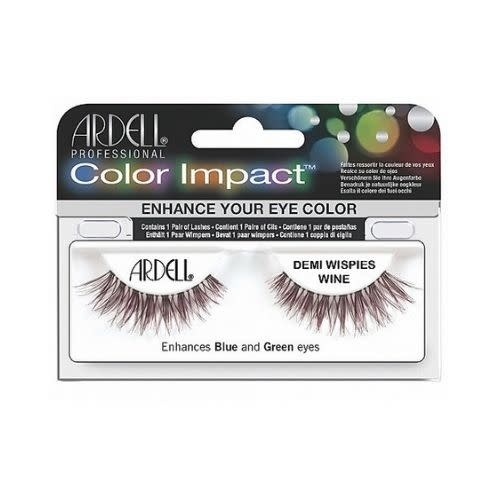 Ardell Ardell Color Impact Lash Demi Wispies Wine