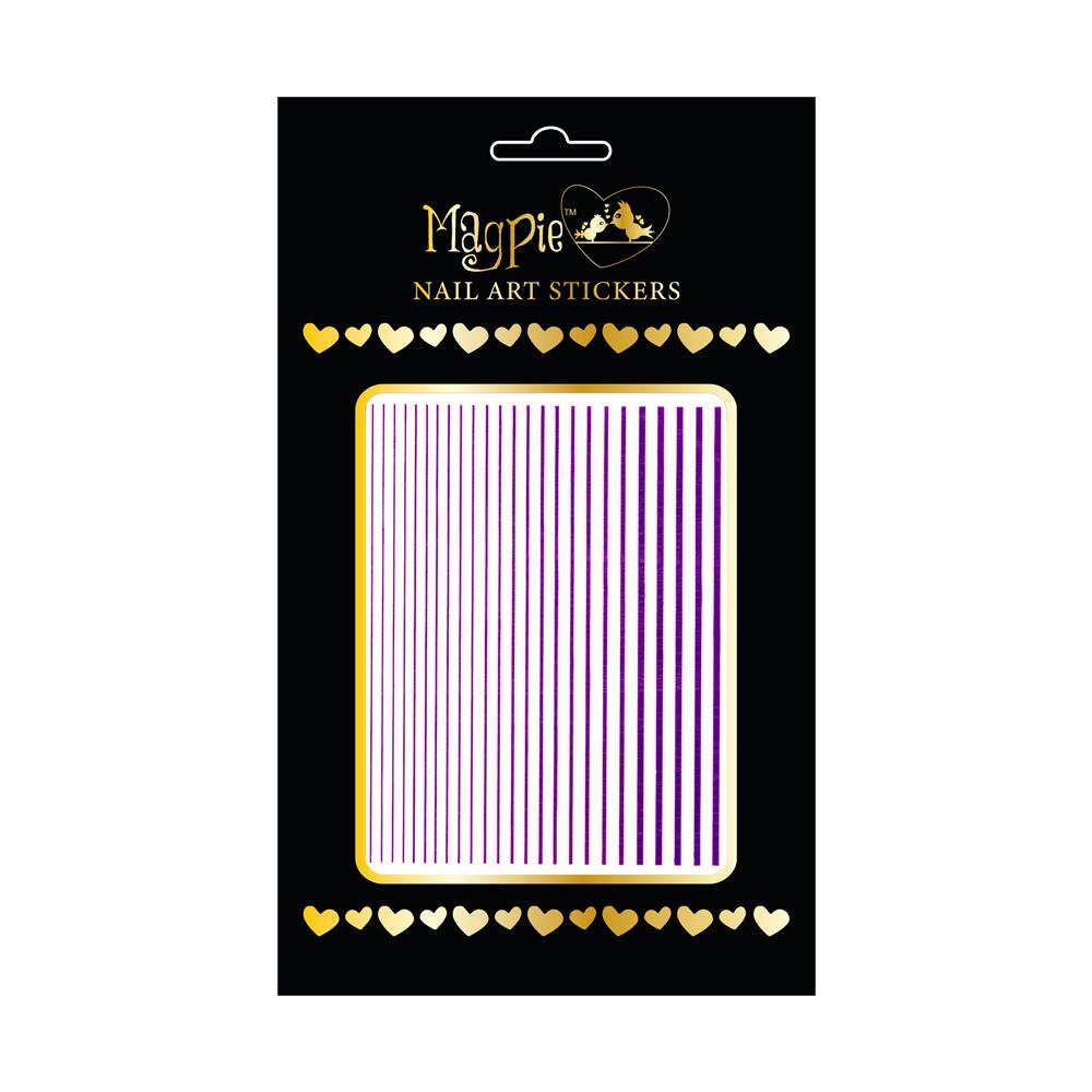 Magpie 084 purple stickers