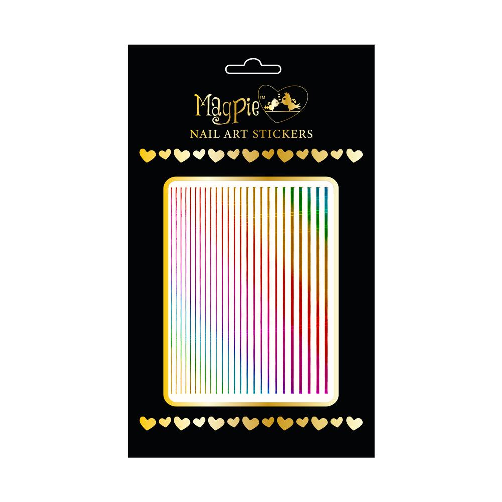 Magpie 084 Rainbow stickers