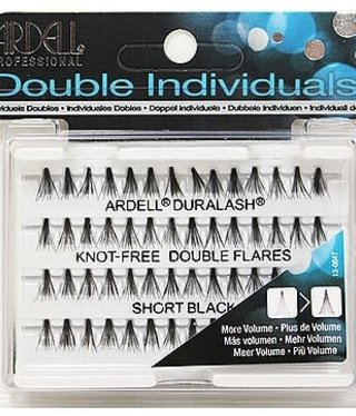 Ardell Double Up Individual Short Black Knot Free