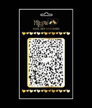 Magpie 085 black stickers