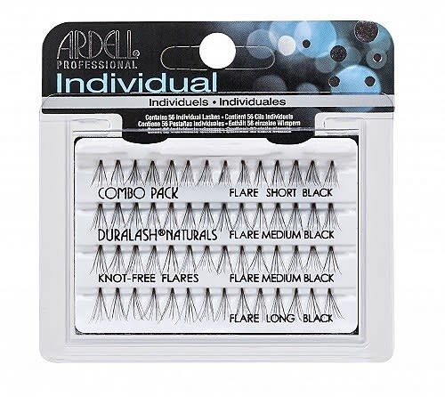 Ardell COMBO BLACK KNOT FREE