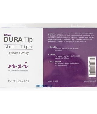 NSI Dura Tip Clear 300ct