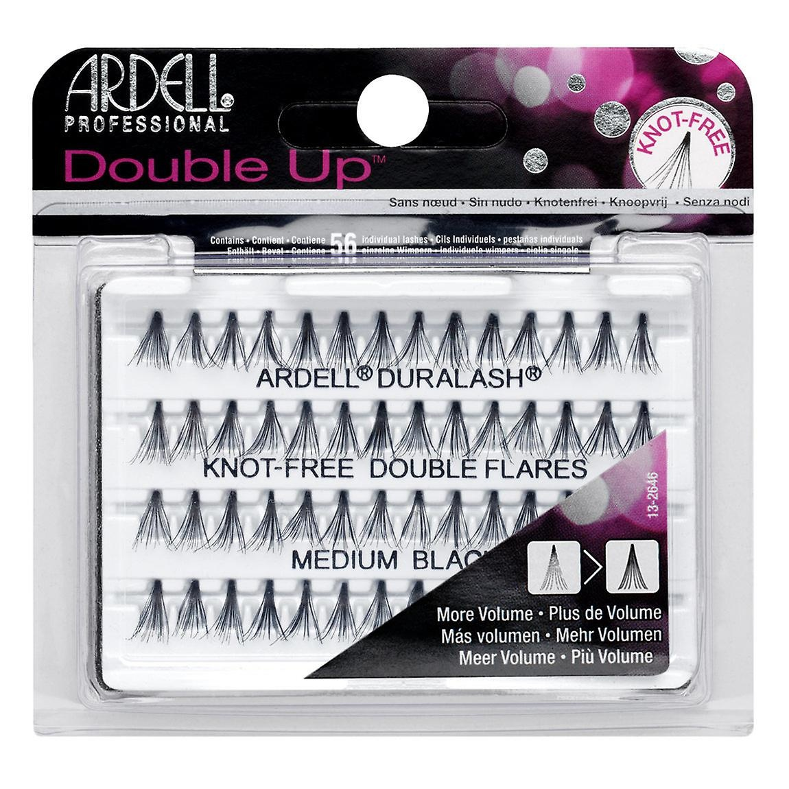 Ardell Double Up Individual Medium Black Knot Free