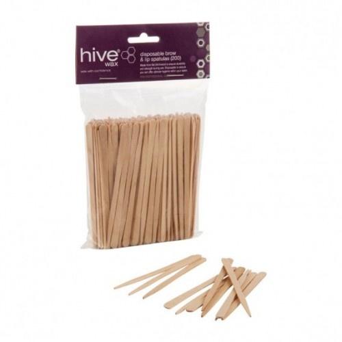 Hive Disposable Brow & Lip Spatulas 200pack