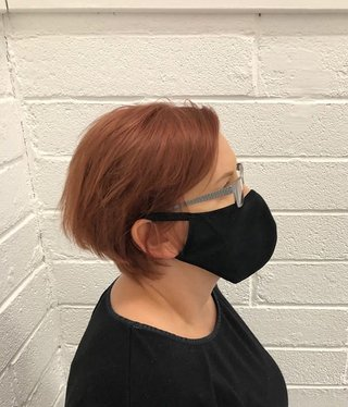 Blk Reusable face Mask 2pk x6