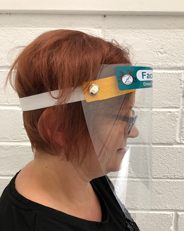 Face Shields pack of 10