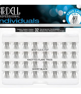 Ardell TRIO INDIVIDUALS SHORT BLACK KNOTTED