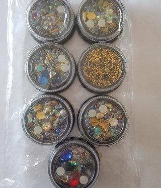 NSI Gypsy Treasure Nail Art 7 pack