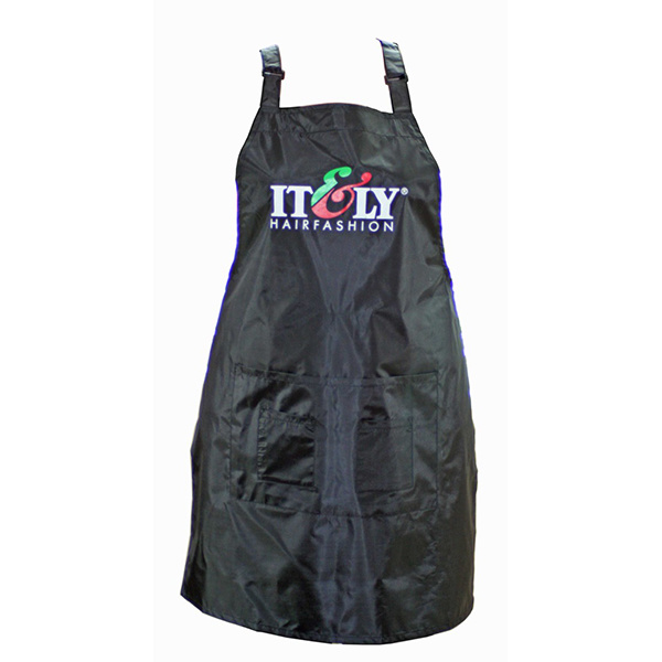 Italy Hair Black Tint Apron with Pockets