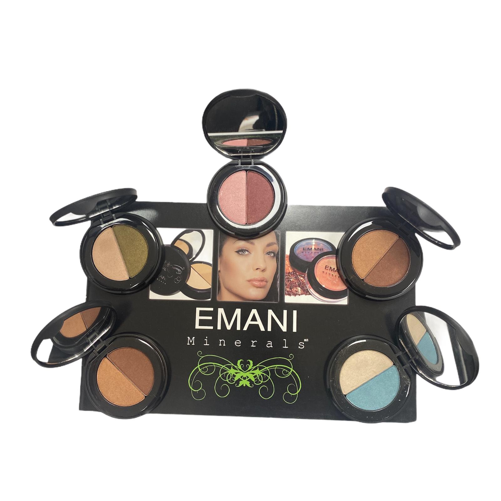 5pk Emani Duo Eyeshadow Colours