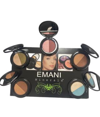 Single Emani Duo Eyeshadow Colours