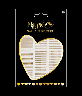 Magpie 002 Gold stickers