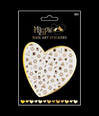 Magpie 004 Gold stickers