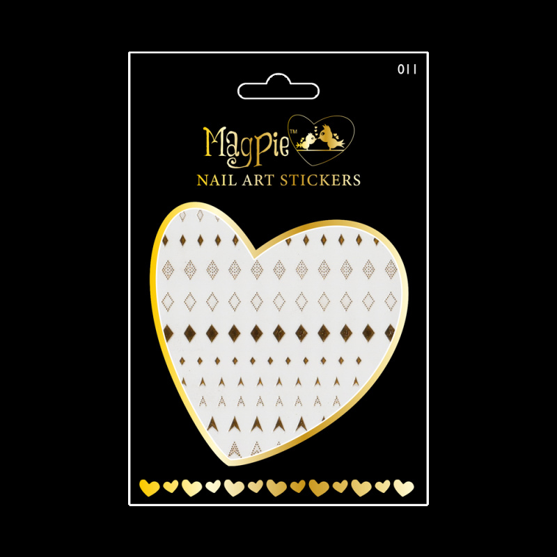 Magpie 011 Gold stickers
