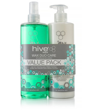 Hive Hive Wax Duo Care Pack