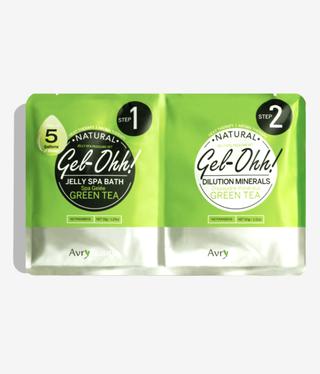 Voesh Gel-Ohh Jelly Spa Pedi Bath-Green Tea