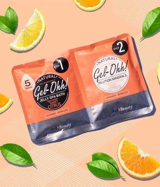 Voesh Gel-Ohh Jelly Spa Pedi Bath-Sweet Citrus