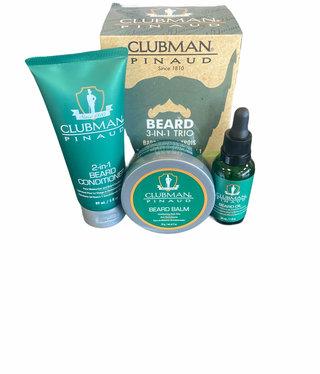 Clubman Beard 3 in 1 Trio