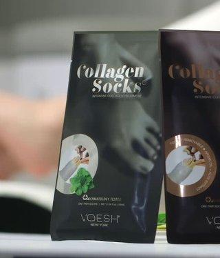 Voesh Voesh Box of 100 Collagen Sock