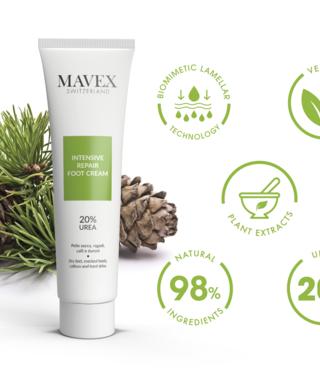 Mavex Mavex Intensive Repair Foot Cream 100ml