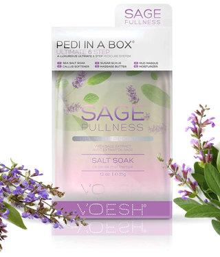 Voesh Voesh Pedi in a box 6 step Sage Fullness