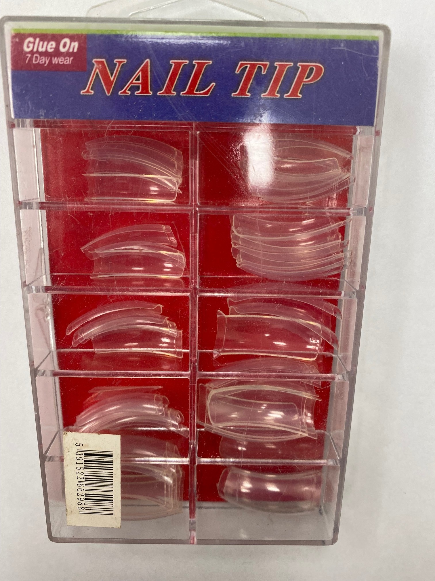Clear 1/2 well Tips 100pc