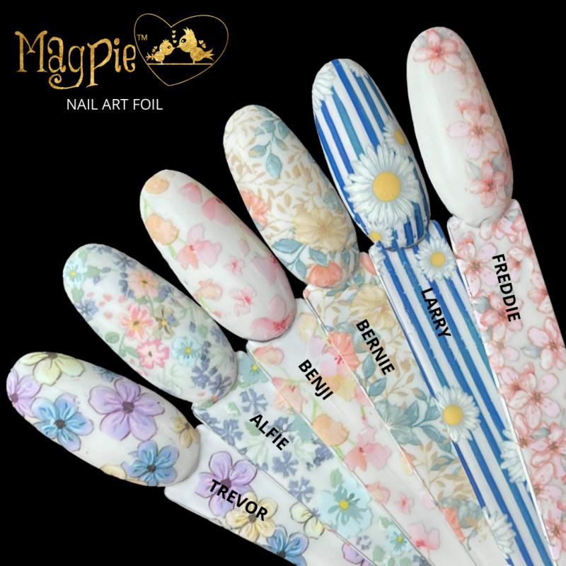 Check Out Floral Foils