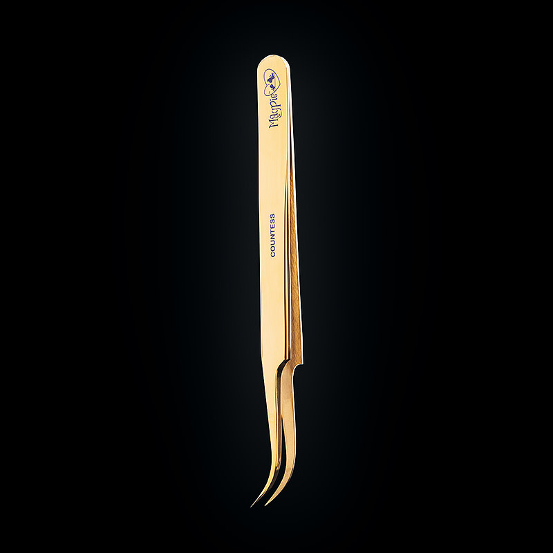 Magpie Countess Curved Tweezers