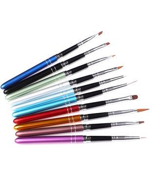 Gel Brush Set 10 pack