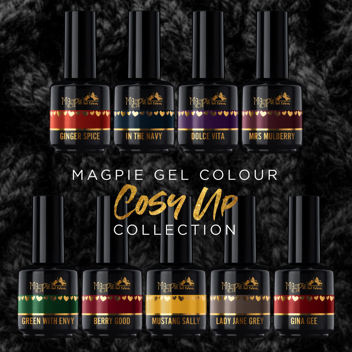 Magpie In The Navy 15ml MP uvled