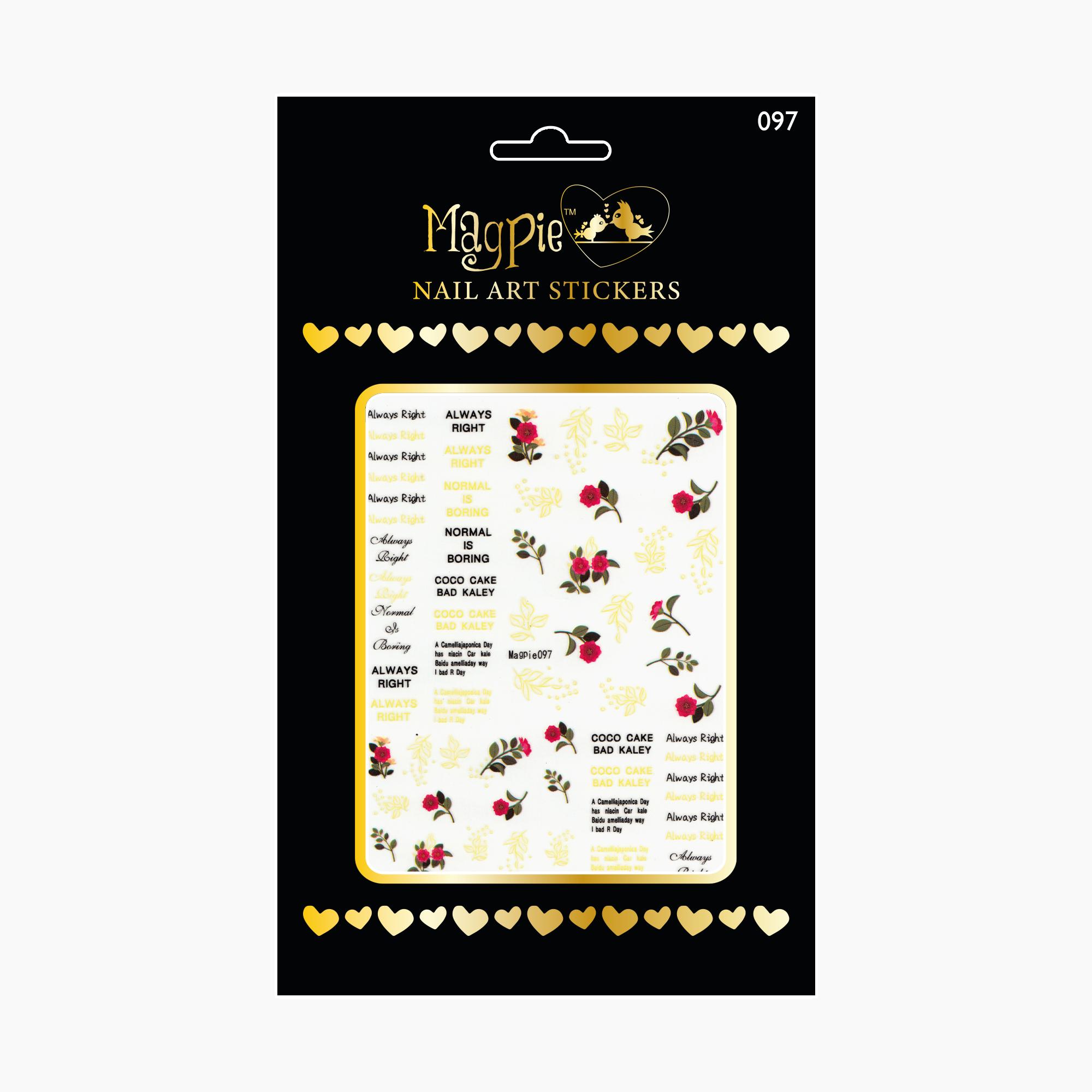 Magpie 097 stickers