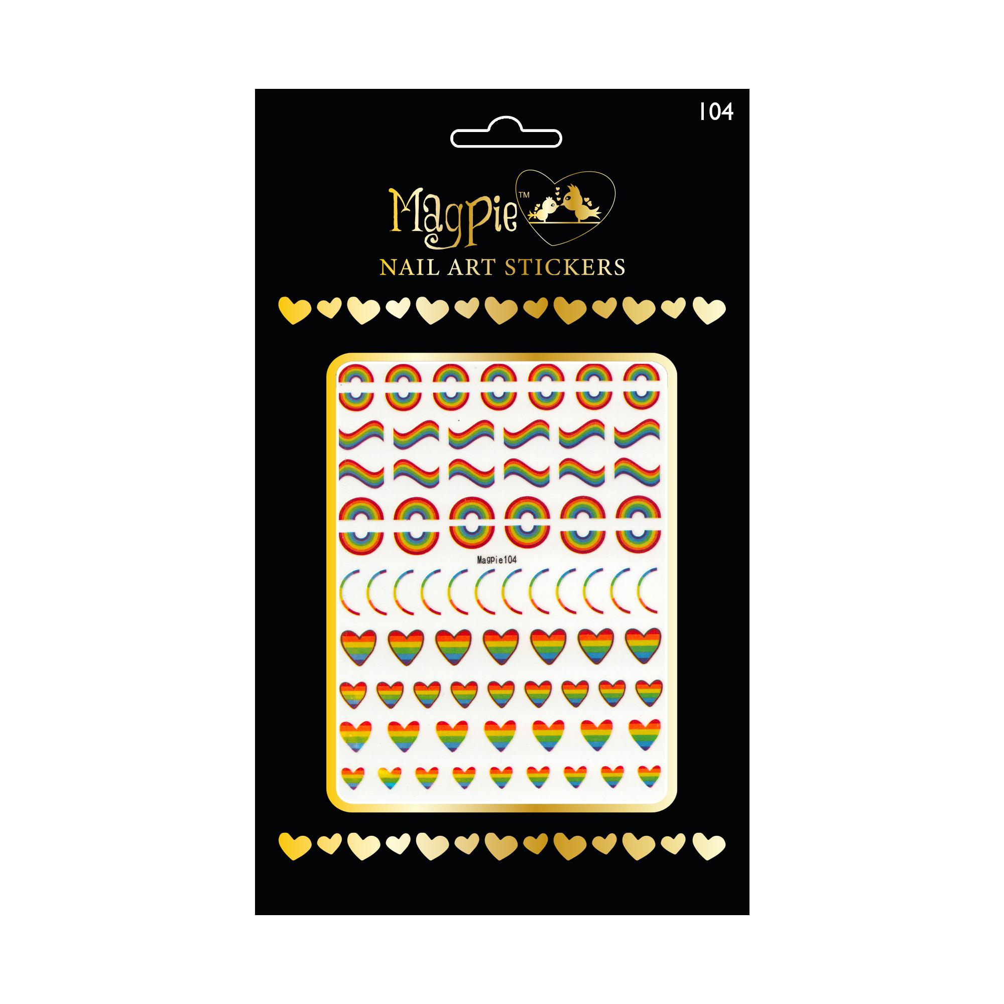 Magpie 104 stickers