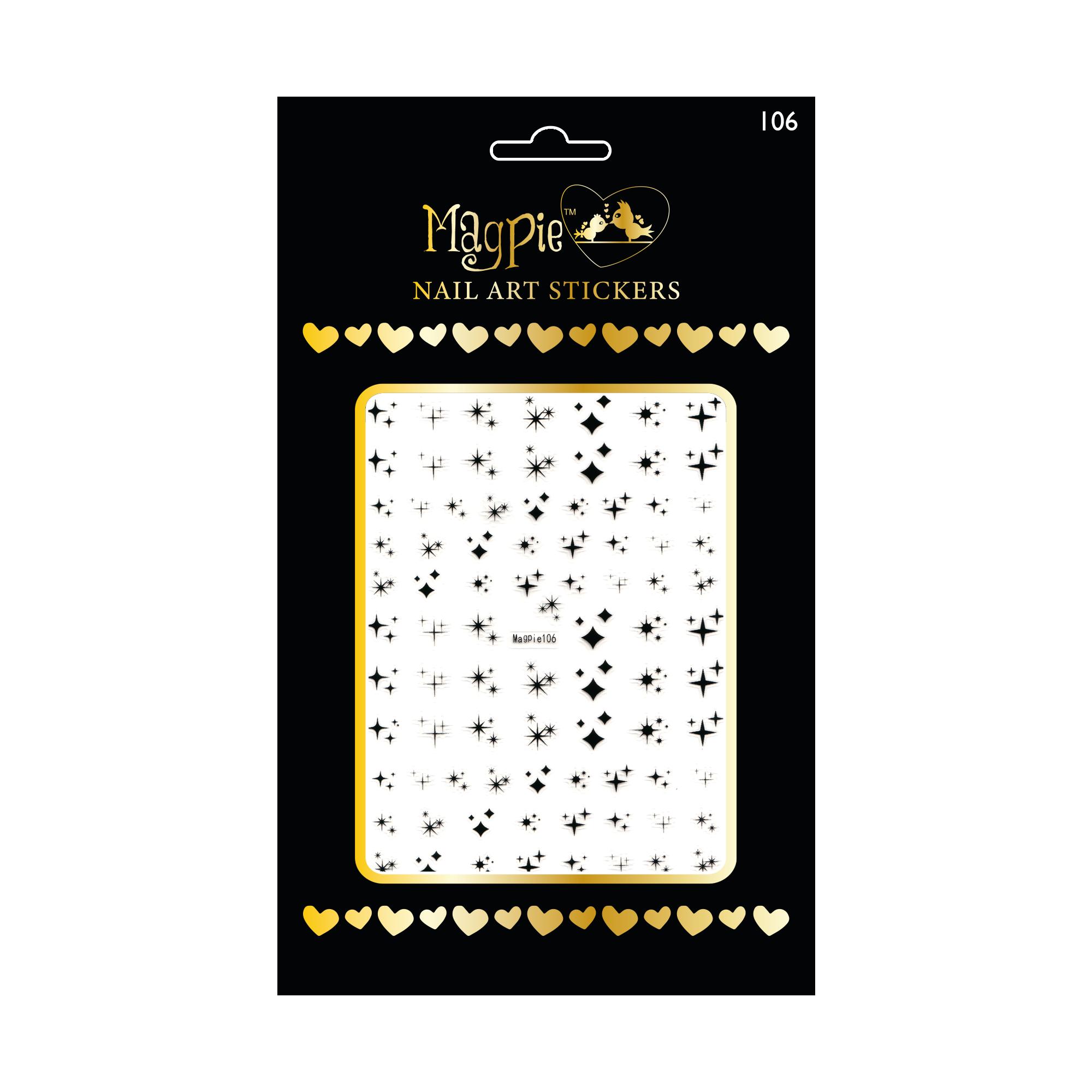 Magpie 106 stickers