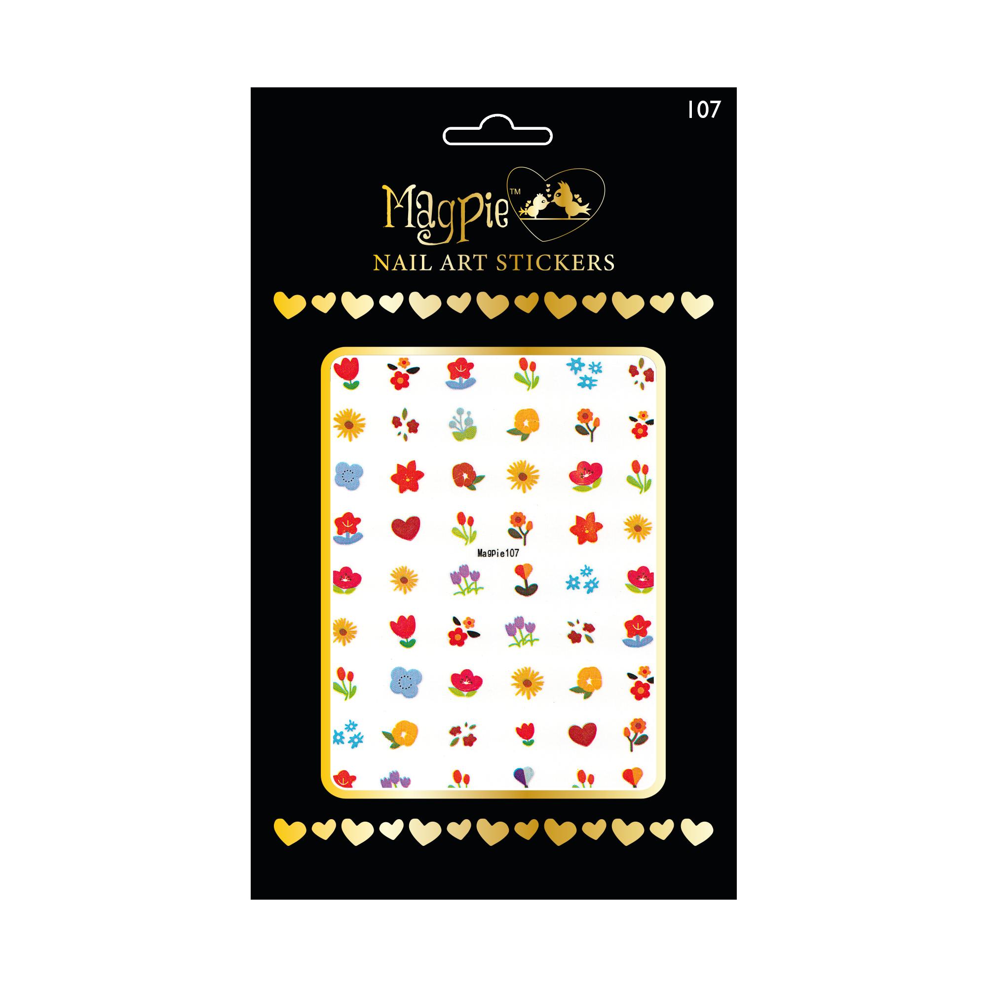 Magpie 107 stickers