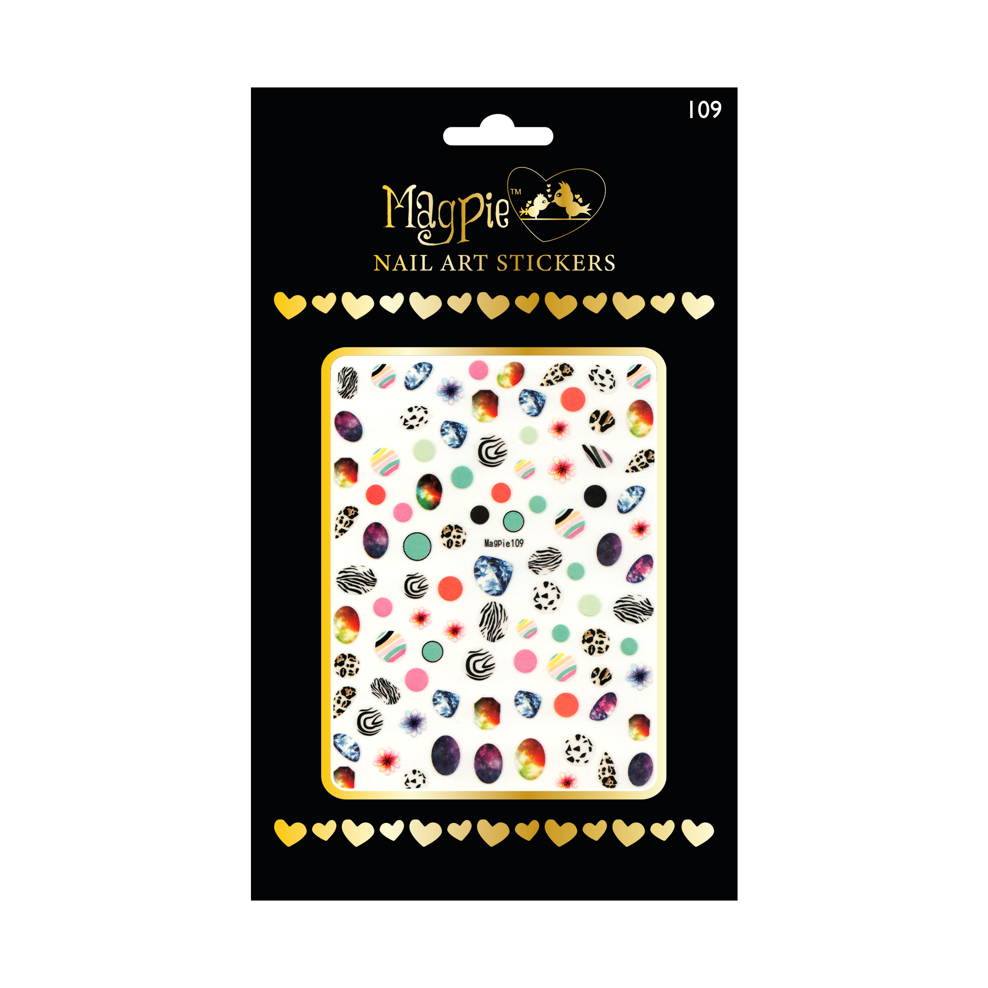 Magpie 109 stickers