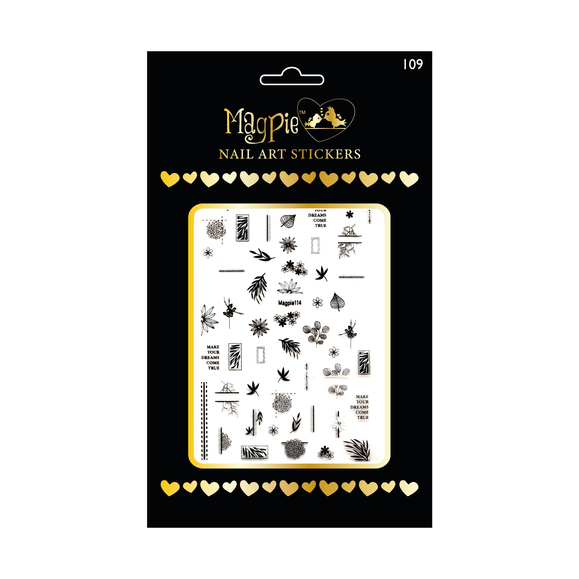 Magpie 114 stickers