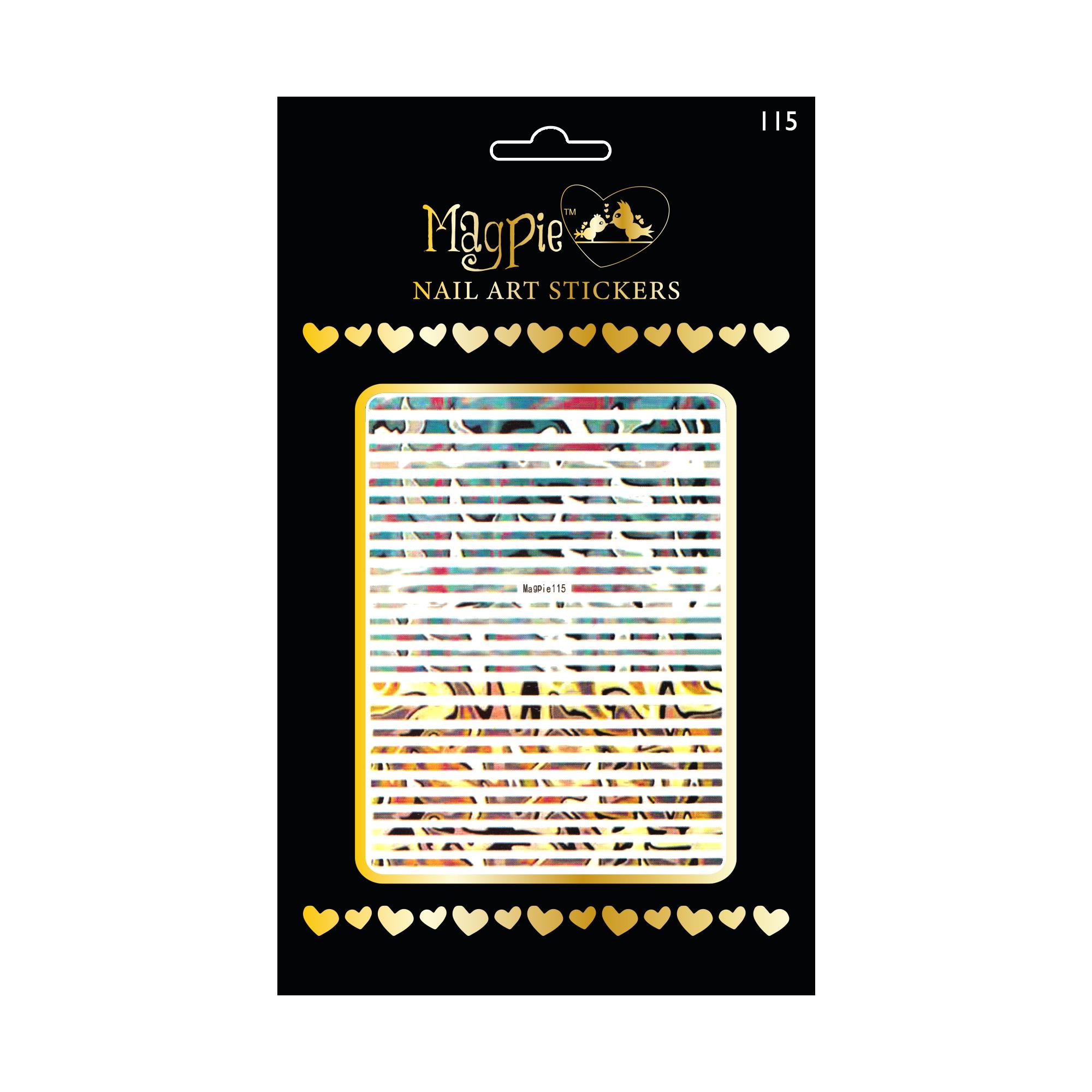 Magpie 115 stickers