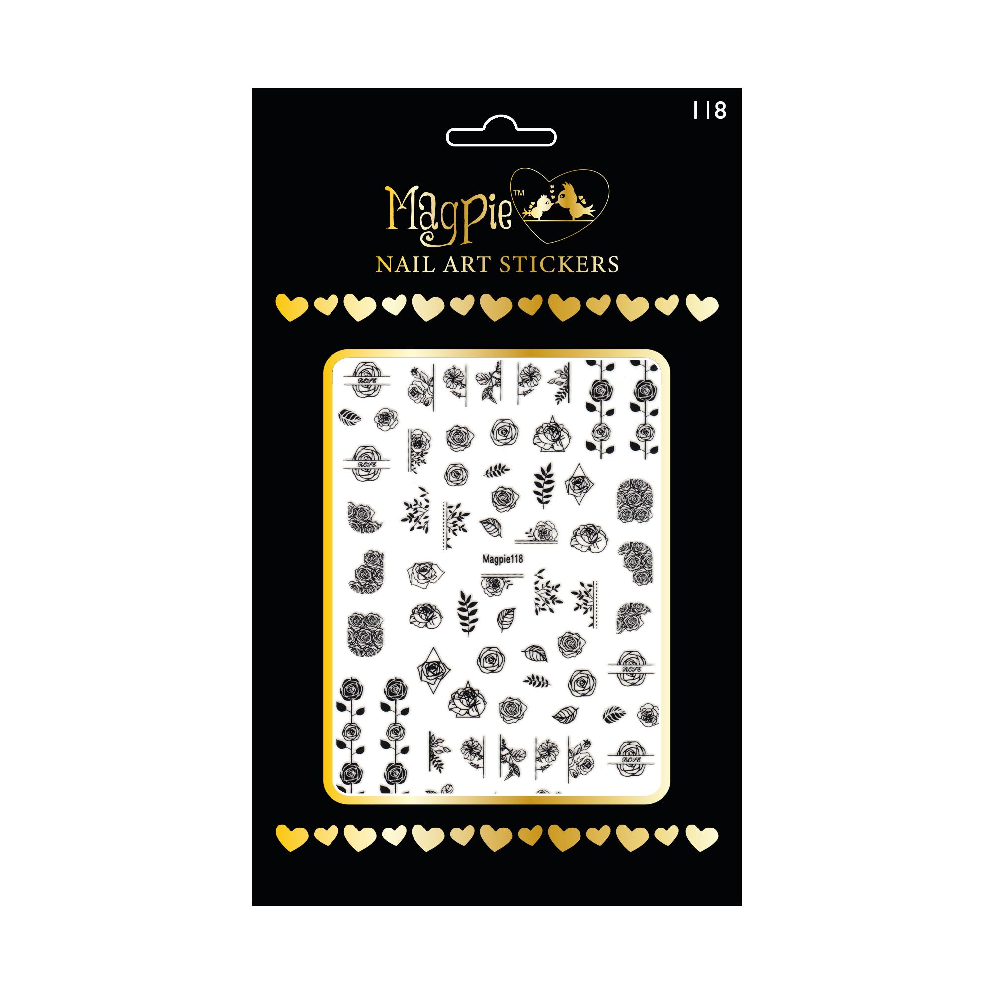 Magpie 118 stickers