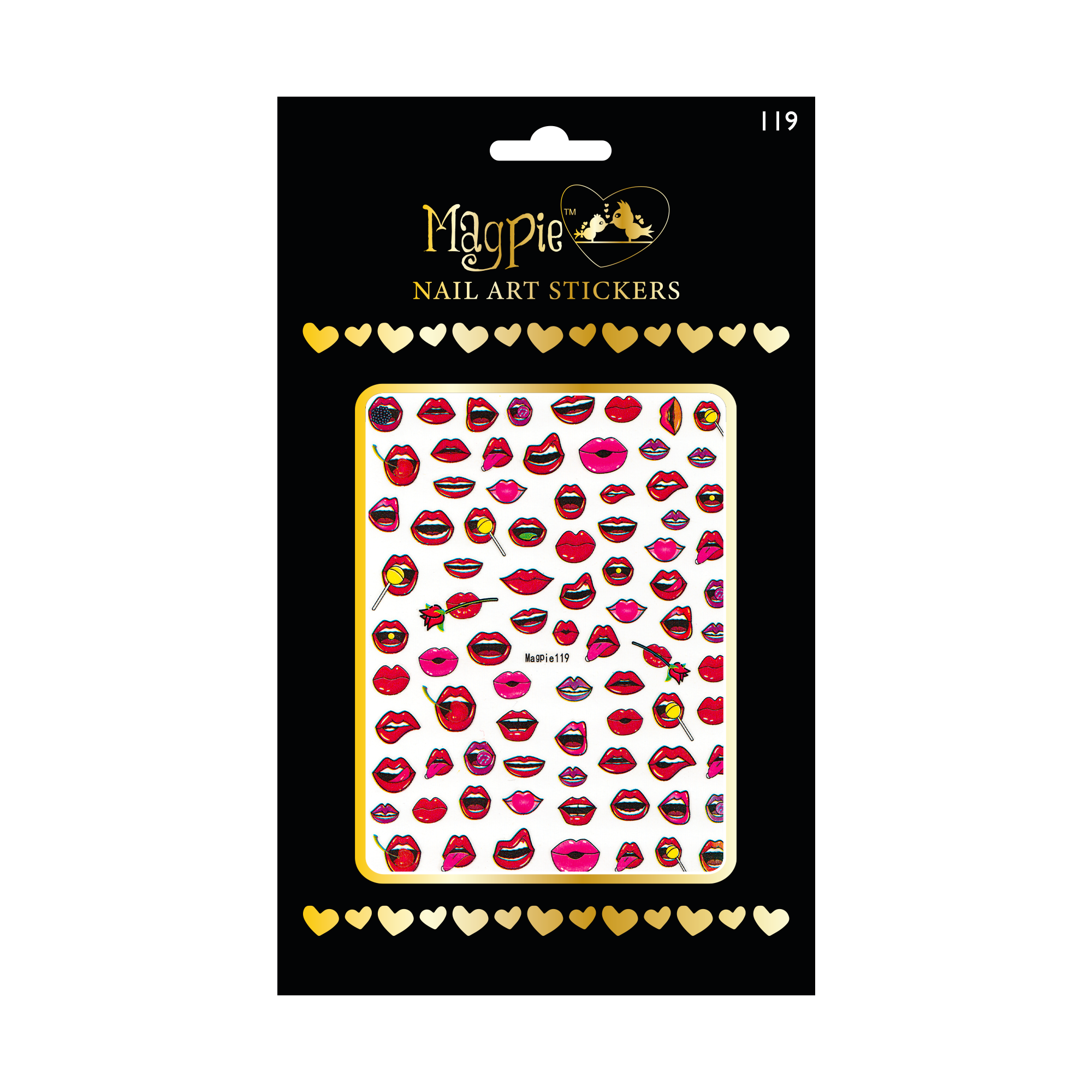 Magpie 119 stickers