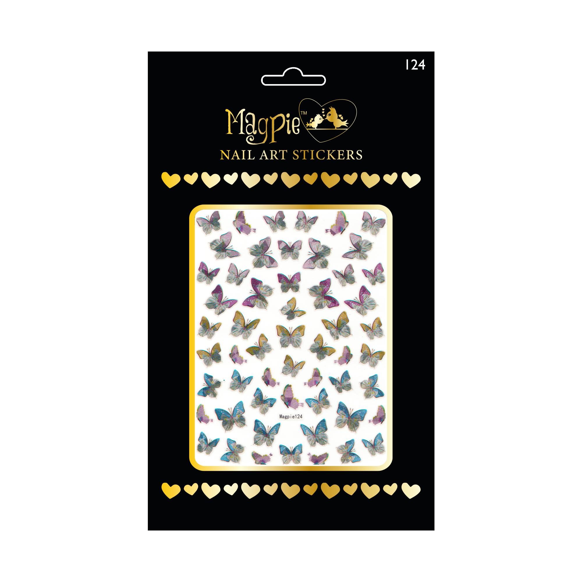 Magpie 124 stickers